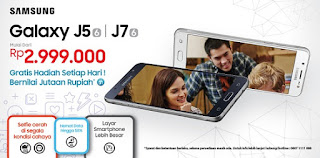 Launching Galaxy J5 2016 dan J7 2016 Harga Mulai Rp 2.999.000 (Erafone)