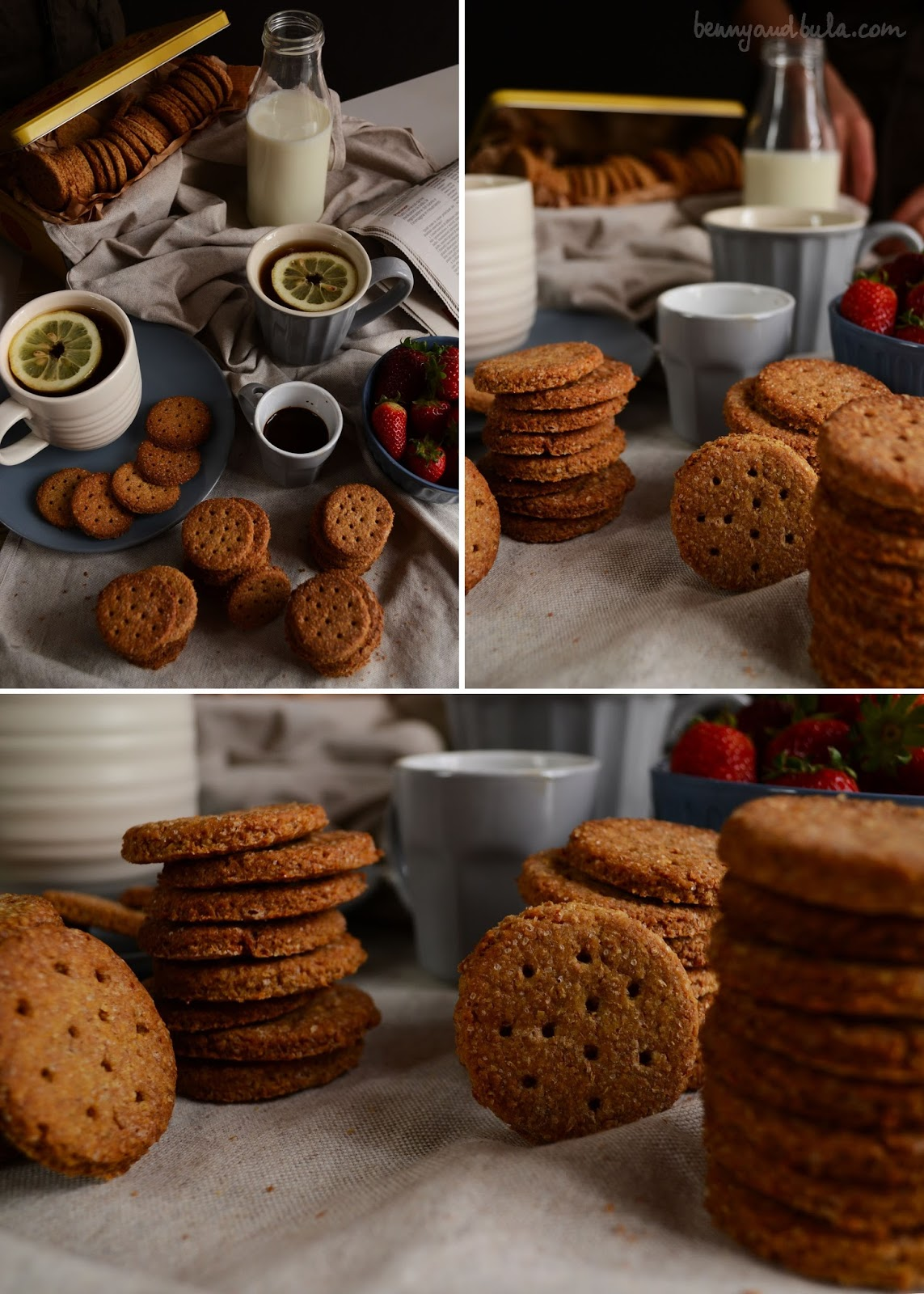 frollini integrali ricetta/ whole wheat cookies recipe