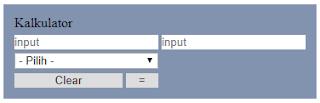 Membuat Kalkulator dengan Bahasa PHP