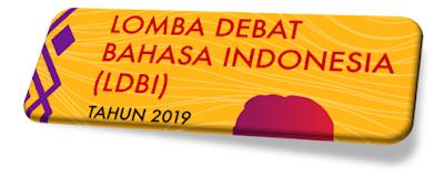Download Juknis Pedoman LOMBA DEBAT BAHASA INDONESIA (LDBI) Th. 2019 PDF, kemdibud, psma kemdibud, ainamulyana