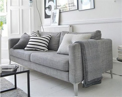 Grey sofas and sectionals for small spaces