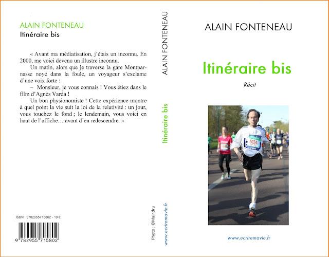 itinéraire bis, Première et quatrième de couverture