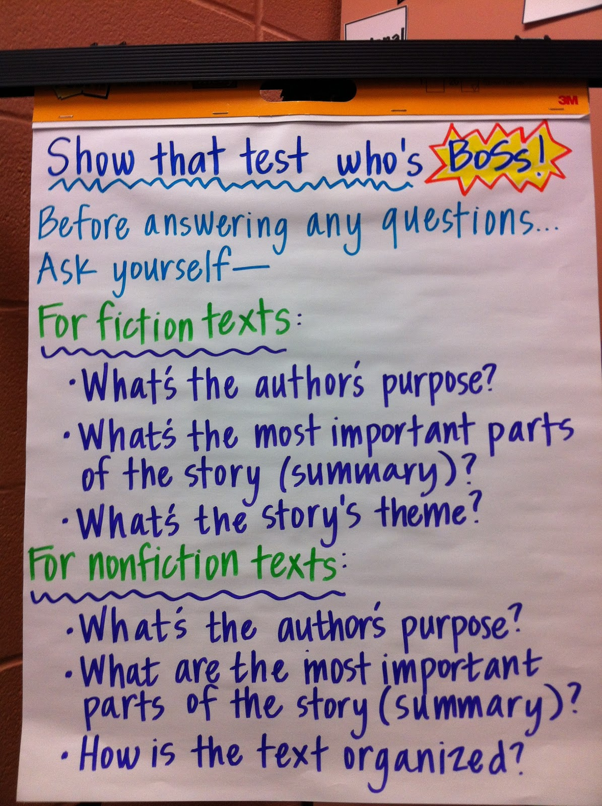 Teaching With A Smile Reading Test Prep