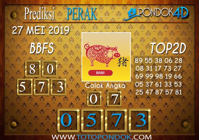 Prediksi Togel PERAK PONDOK4D 27 MEI 2019