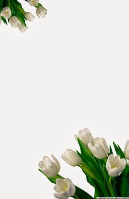 Invitación Elegante y Novedosa para Bodas Tulipanes Blancos