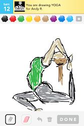 draw something yoga deep skin