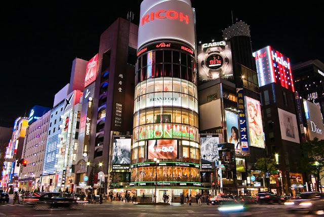 ginza - Jalanan Di Dunia Yang Paling Oke Buat Kamu Yang Hobi Shopping