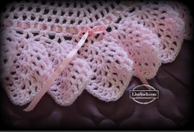 Baby Shawl CRochet BORDER PATTERN FREE