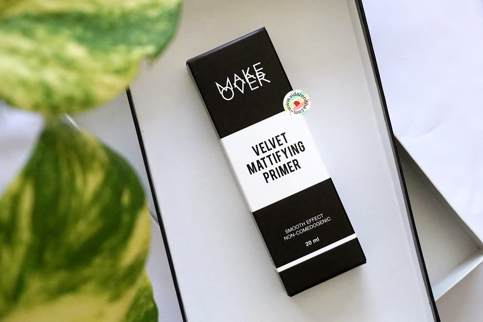 Review Make Over Velvet Mattifying Primer | vidazenitha.com/2018/08/review-make-over-velvet-mattifying-primer.html