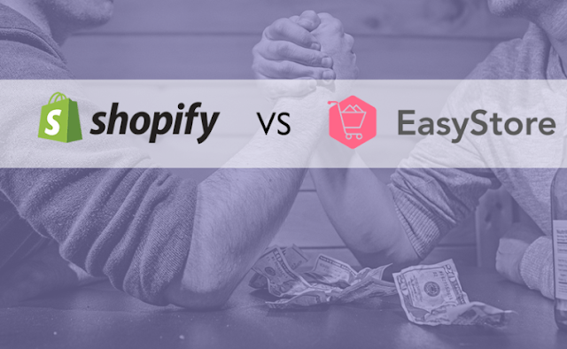 Perbandingan E-Commerce Platform Shopify Vs Easystore