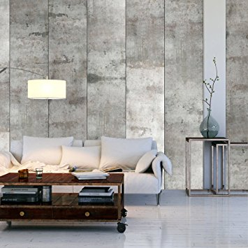betong tapet vardagsrum grå fototapet concrete