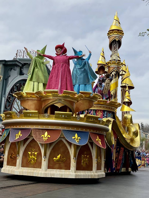 Sleeping Beauty Magic Happens Float