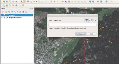 QGIS Lat Lon Tools new feature