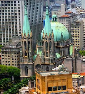 Torres e Cúpula da Catedral da Sé