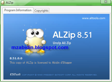 Free Download Softwares: Download ALZip 8 51 Full Key