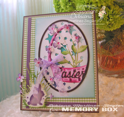 holy week; easter basket card front