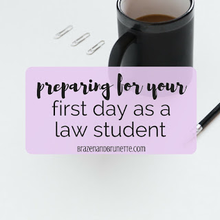 The 7 things you need to do to prepare for law school during your 0L summer are: find housing, acquire student loans, book holiday flights, check your law school's website, buy your books, visit your law school campus, and talk with current and new law students. law school blog. law student blog. law school blogger. law student blogger. | brazenandbrunette.com