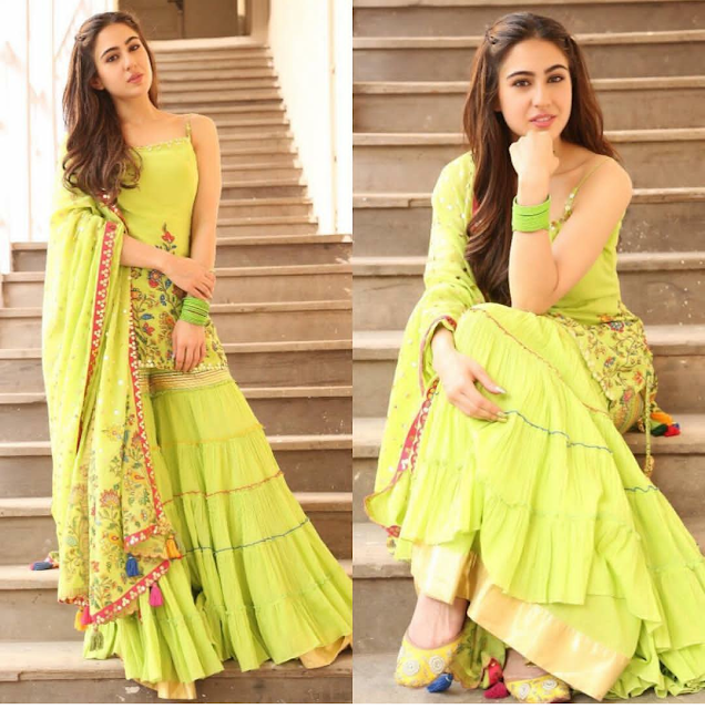 Sara Ali Khan in Sukriti And Aakriti