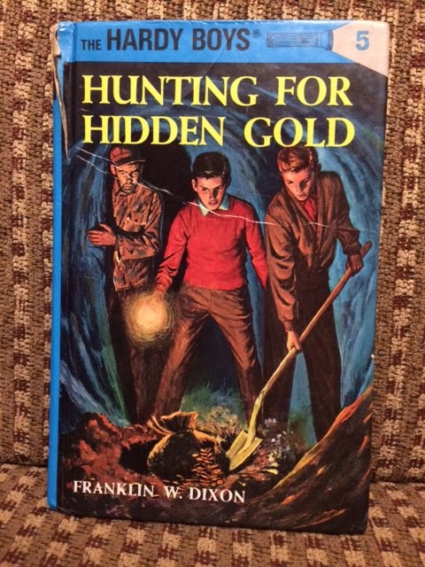 The Hardy Boys Love Participles! (Really)