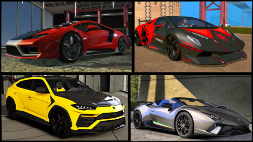 Free Download All HD And Premium Cars Mod Pack For GTA San Andreas