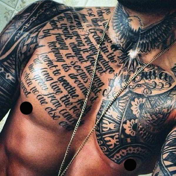 Las 5 Zonas Masculinas Mas Sexys Para Tatuarse Belagoria La Web