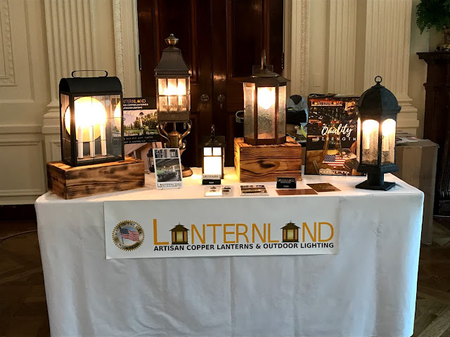 Lanternland Lighting on display at the White House 2018 Made in America Product Showcase