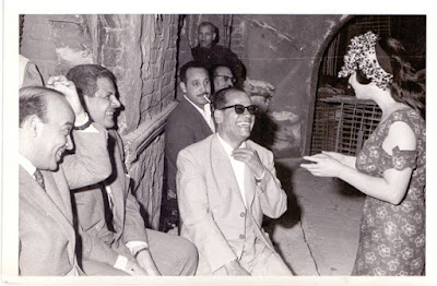 Shadia and Naguib Mahfouz