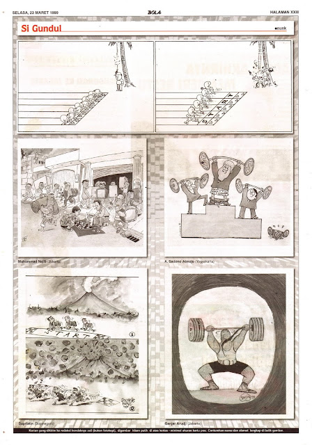 Si Gundul EDISI NO. 886 / SELASA, 23 MARET 1999