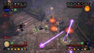 Diablo 3 character fighting
