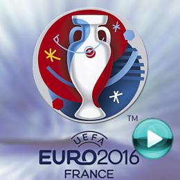 Euro 2016 - program poświęcony Mistrzostwom Europy w Piłce Nożnej w 2016 roku. Naciśnij play, aby otworzyć stronę z listą materiałów wideo o Mistrzostwach Euro 2016 (online za darmo i legalnie)