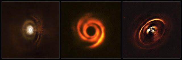 nascimento de planetas