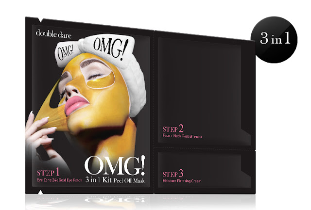 Double Dare Spa 3 In 1 Peel Off Mask review by Barbies Beauty Bits