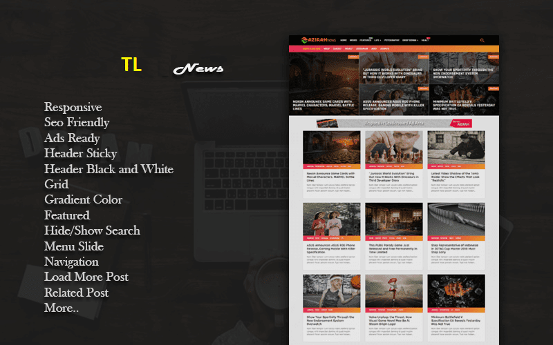 TL Blogger Template