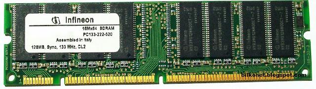 Jenis-Jenis RAM Yang Harus Anda Ketahui - SDRAM (Synchronous Dynamic Random Access Memory)