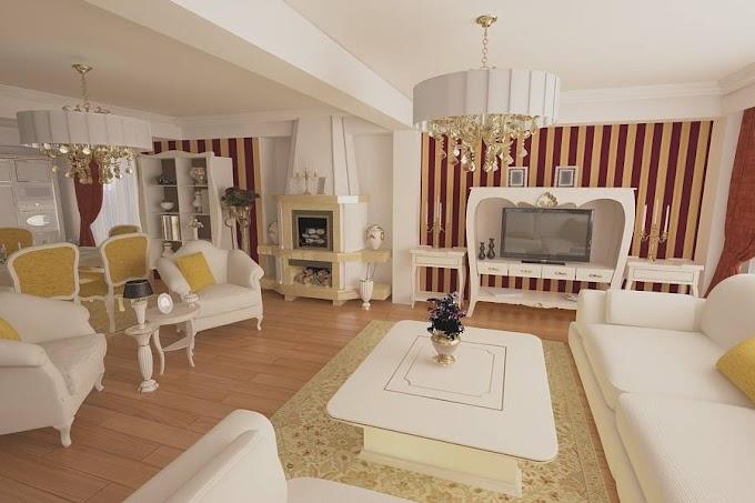 Design interior living case de lux Bucuresti - Amenajari interioare vile clasice