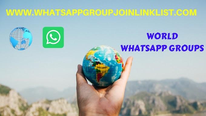 World WhatsApp Group Join Link List