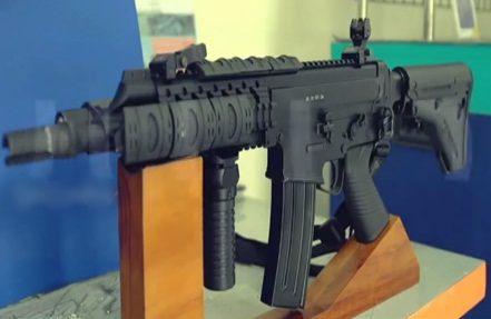 Gambar senapan serbu SS2 Subsonic Produk terbaru PT Pindad Indonesia