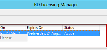 Removing temporary RDS licenses | Tech-Support