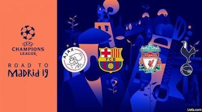 Kabar Berita Terbaru Hari Ini Jadwal Liga Champions Malam Ini Tottenham vs Ajax, Barcelona vs Liverpool Kamis Dini Hari