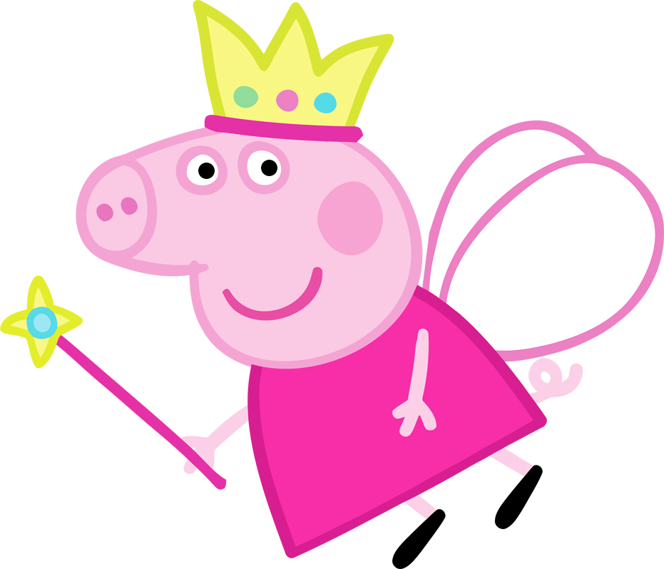 Peppa Pig Fairy Free Party Printables Images And