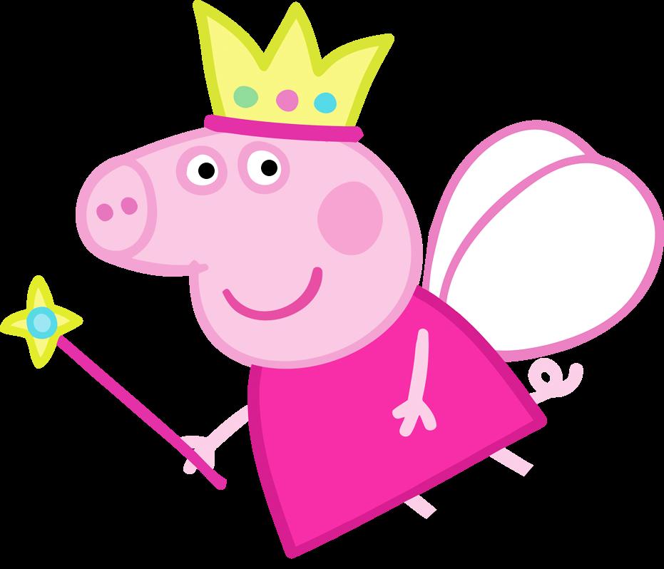 Imprimibles, Imágenes y Fondos Gratis de Peppa Pig Hada.