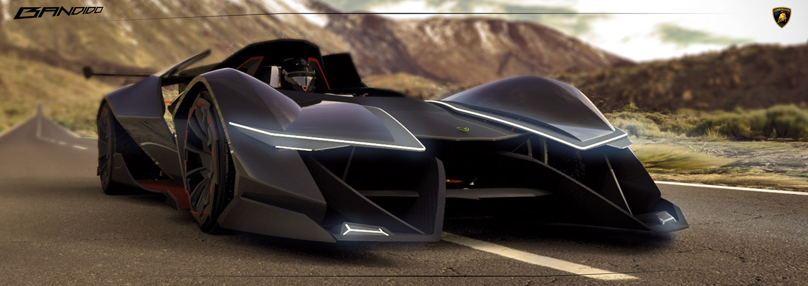 This Electric Single Seater Concept Is So Outrageous Lamborghini Could Actually Build It Carscoops