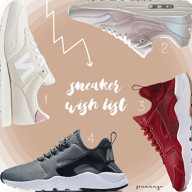 sneakers, fashion, lifestyle, nike, new balance, wish, list, shopping, footwear