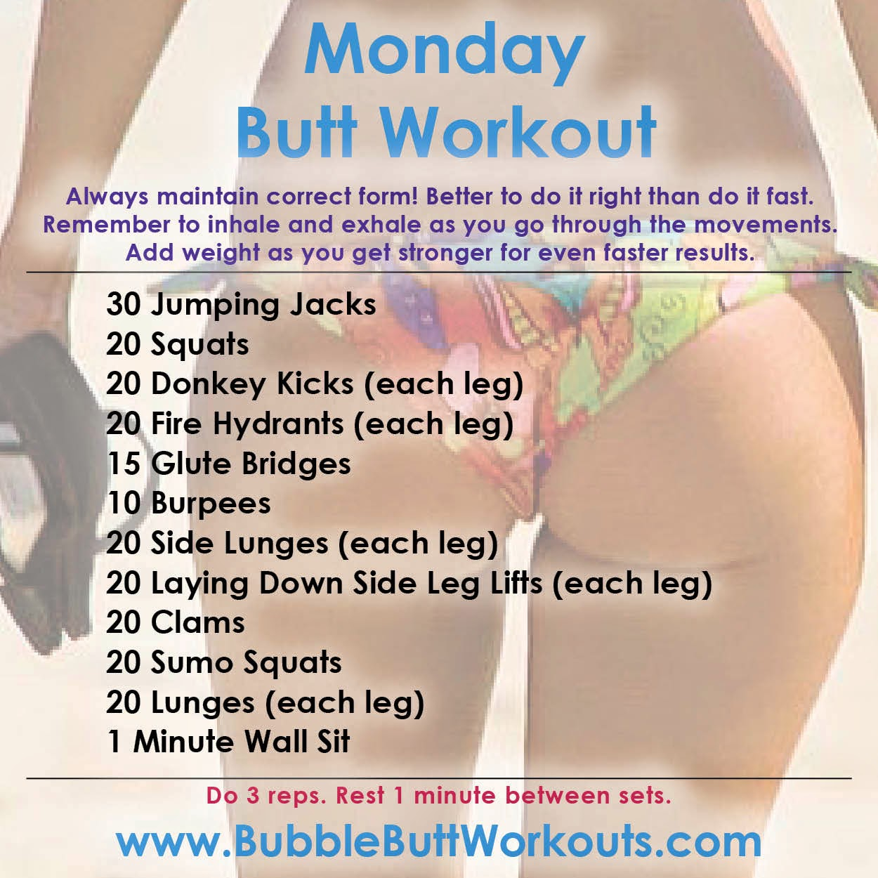 Bubble Butt Exercises 48