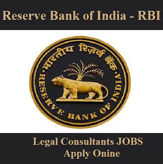Reserve Bank of India, RBI, Bank, Legal Consultant, Graduation, freejobalert, Sarkari Naukri, Latest Jobs, rbi logo