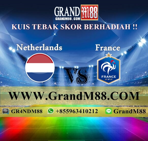 Kuis Tebak Skor Berhadiah !! Belanda VS Francis