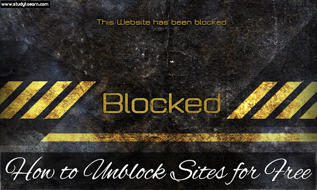 How to Unblock Sites for Free