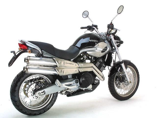 Voxan Scrambler Motorcycle