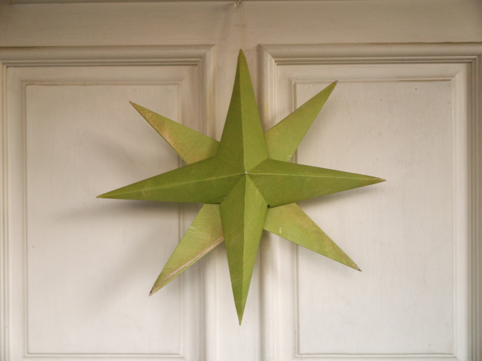 Folded Paper Christmas Origami Stars - The Magic Onions - photo#35