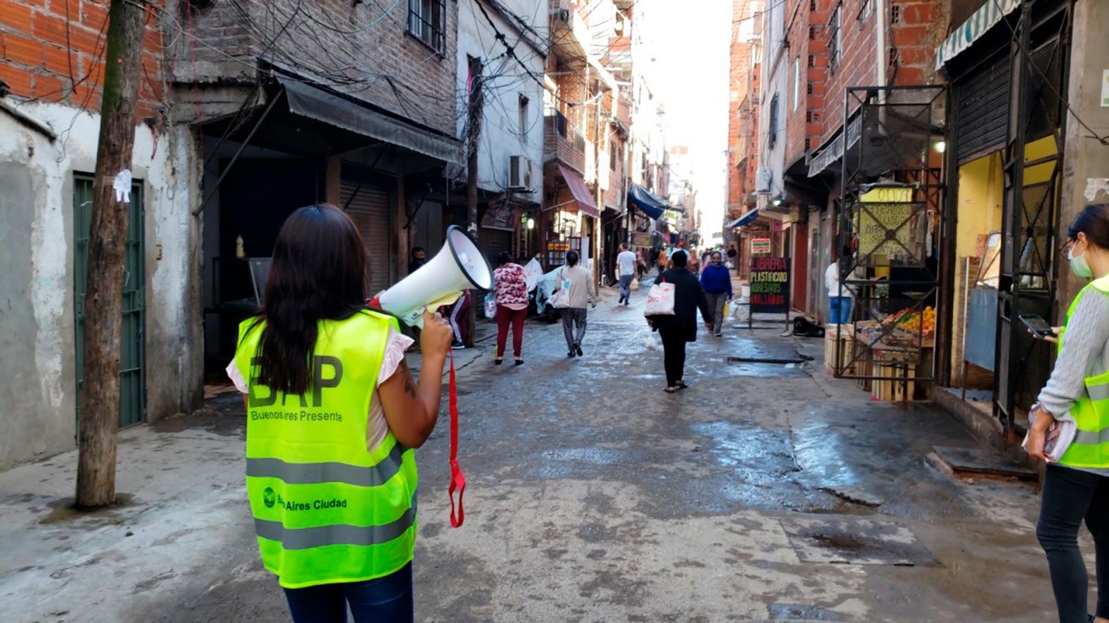 Con 116 nuevos casos, los diagnósticos en los barrios populares porteños suben a 1.088